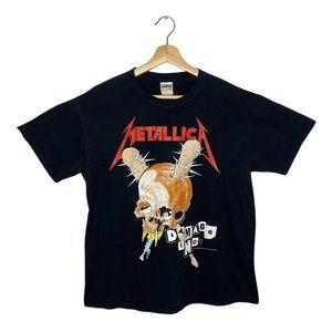 Vintage Metallica Damage Inc Shirt Pushead T-shirt